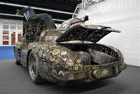 Steel Car by Memorable Supercars Built Out Of Scrap Metal I Like To