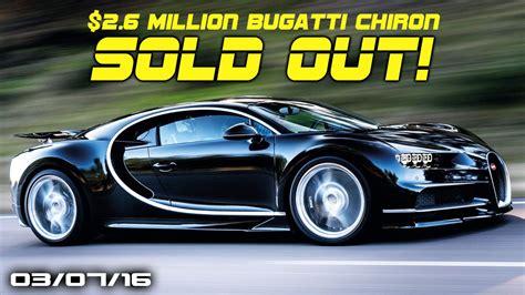 C.ronaldo racing a bugatti veyron. Bugatti Chiron Sold Out, Aston Martin's Future, McLaren ...