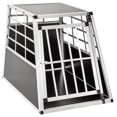 Gabbie Auto Per Cani Alluminio Trasportino Gabbia In Alluminio Per Cani Da Auto Large L