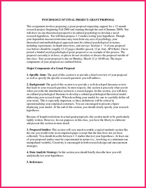 Apa Research Proposal Example Business Management Assignments Apa