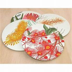 Bloom Wildflower Coasters Made by Mokoh Design in Western