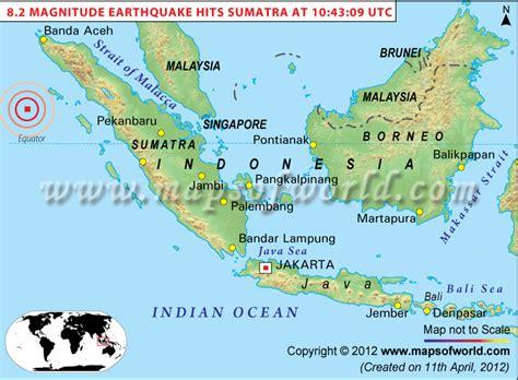 indian ocean earthquake map