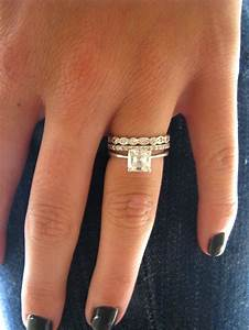stackable wedding rings love stackable wedding bands With mismatched wedding bands and engagement rings