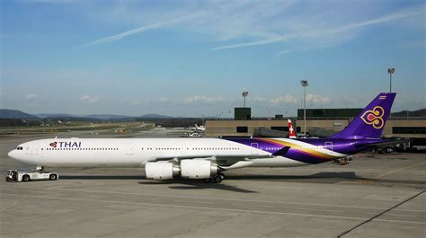 airbus    thai airways aircraft wallpaper  aeronefnet