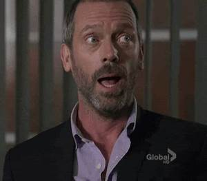 Reaction gif tagged with sad, please, Hugh Laurie, House