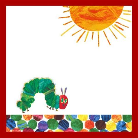 printable   hungry caterpillar baby shower