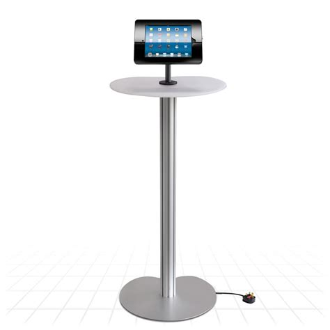 ipad kiosk table mount podium ipad display stand tablet display stands