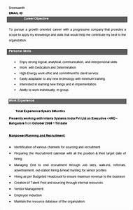 21 HR Resume CV Templates HR Templates