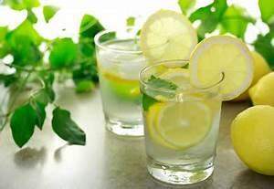 Water met citroen gezond