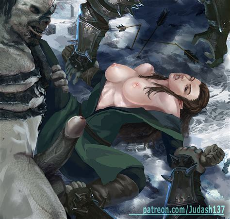 Tauriel And Bolg The Hobbit By Judash137 Hentai Foundry