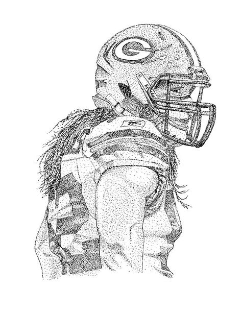 clay matthews  coloring pages