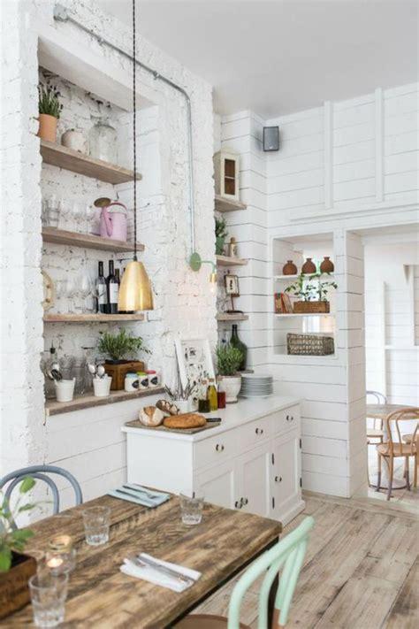 cuisine en bois la cuisine blanche et bois en 102 photos inspirantes