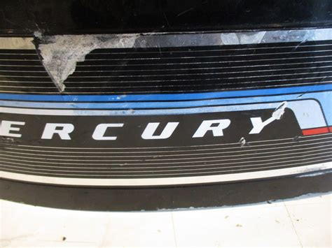 mercury prop cover mercury outboard top motor engine cowl cover merc 110