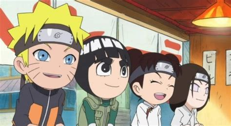 rock lee  ninja pals episode  anime review