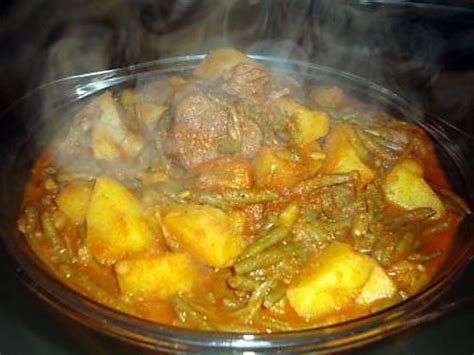 recette de cuisine arabe marga ragout aux haricots vert recette algérienne