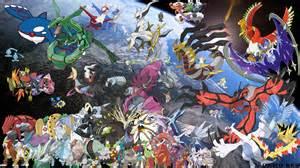 All Legendary Pokemon Todos losPokemon Legendarios