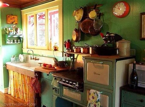 Charming Vintage Kitchen Pictures, Photos, And Images For