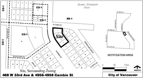 Rezoning Application, 468 West 33rd Avenue And 49564958