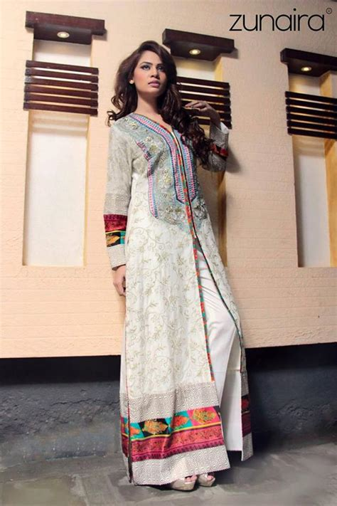 pakistani dresses party wear latest simple collection lounge frocks zunaira formal galstyles october