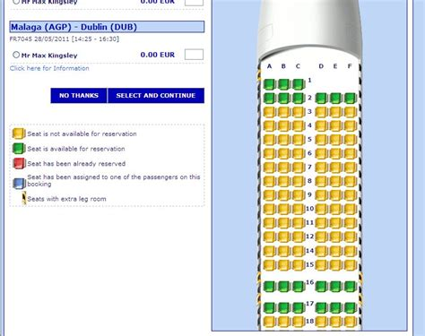 siege ryanair raquel ritz travel ryanair extends reserved seating to