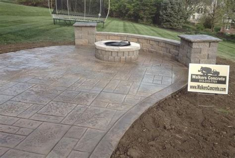 best 25 concrete patio cost ideas on sted