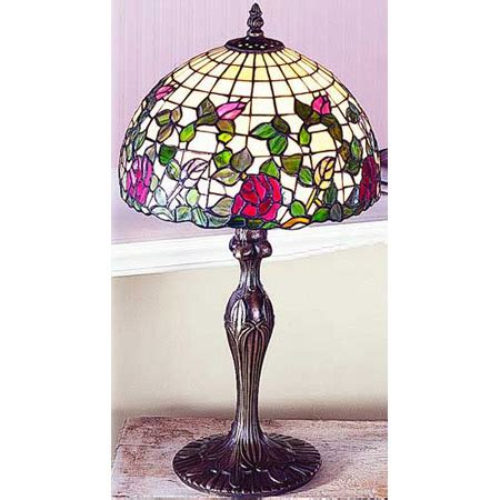 paul sahlin tiffany  tiffany rose garden table lamp