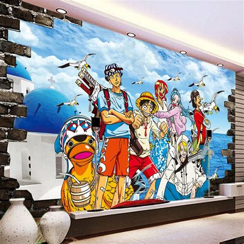 Anime Mural Wallpaper - one photo wallpaper custom 3d wallpaper japanese