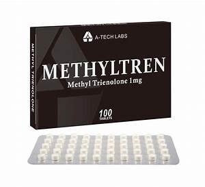 Metyltren - Oral Methyl Trienolone - 1mg  Tab - 100tabs - A-tech Labs