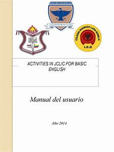 Calaméo - Manual Activities In Jclic For Basic English