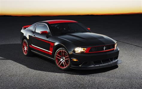 2012 Ford Mustang Boss Wallpapers