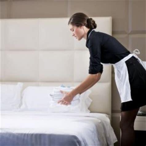 fiche métier femme de chambre valet de chambre