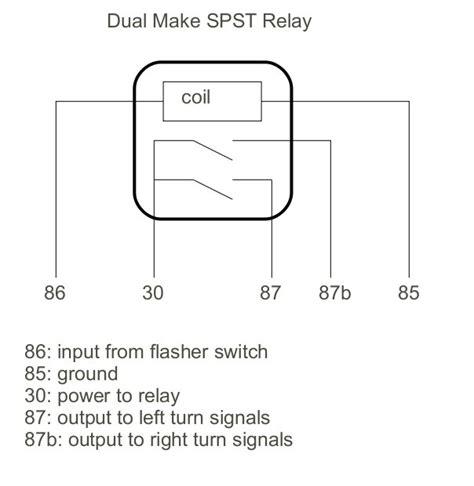 thesambacom gallery dual  spst relay diagram