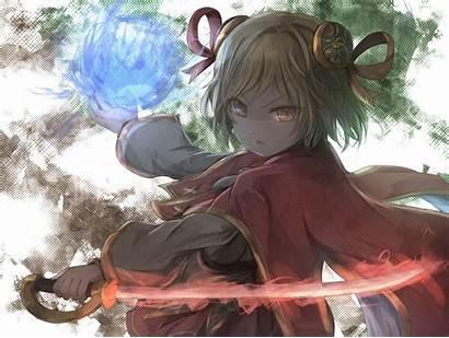 Anime Fantasy Waifu Djeeta Granblue Desktop Wallpapers