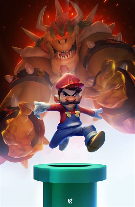 Super Mario By Maxgrecke On Deviantart
