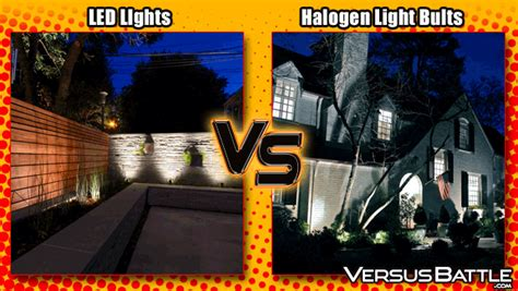 Led Vs Halogen Lights by Lighting Up The Outdoors Led Vs Halogen Light Bulbs
