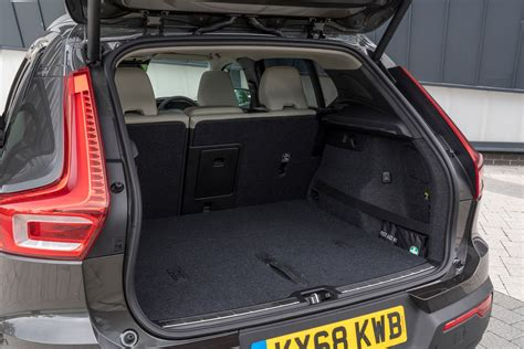 volvo xc  practicality boot space dimensions