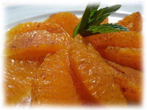 dessert typique du maroc orange cannelle