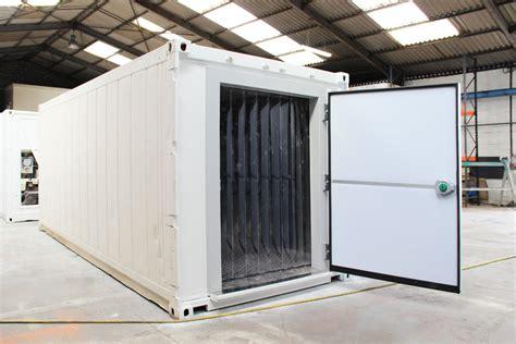 location chambre frigorifique rideau lamelles chambre froide containers reefers