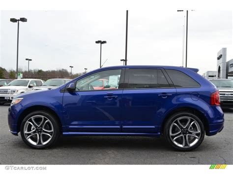 2013 Edge Sport by 2013 Ford Edge Sport Impact Blue