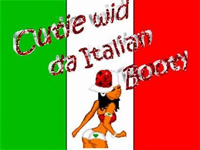 Booty Italian Cutie Glitter Dol Wid Da