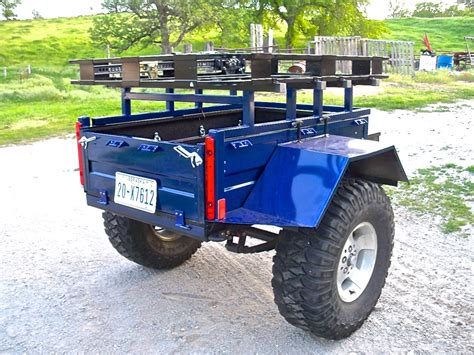 jeep trailer build hf01 quot pioneer quot build