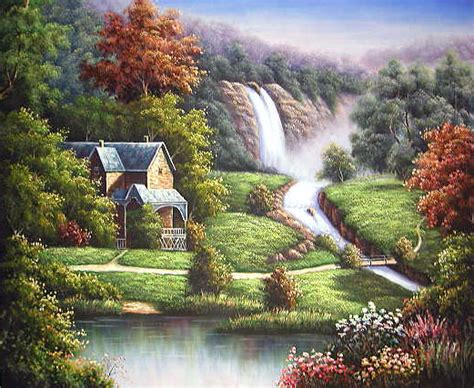 Animal Bon Dormeur by Yessy Gt A Gt Original Paintings Gt Landscape