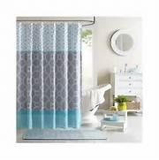 Grey And Aqua Shower Curtain by Aqua Geometric SHOWER CURTAIN Teal Blue Grey Bathroom Accessory Bath Curtains