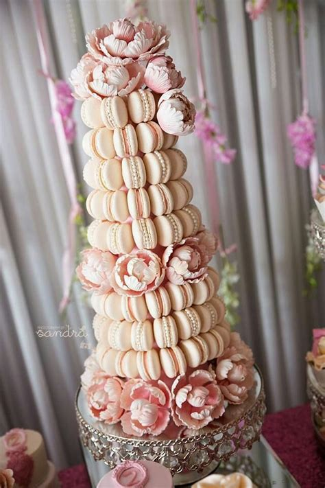 delicious macaroons themed cakes macaroon cake ideas