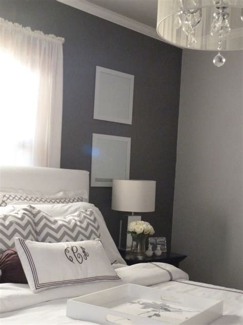 two tone bedroom walls home tour