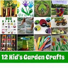 Kid's Garden Crafts Roundup Mother2motherblog