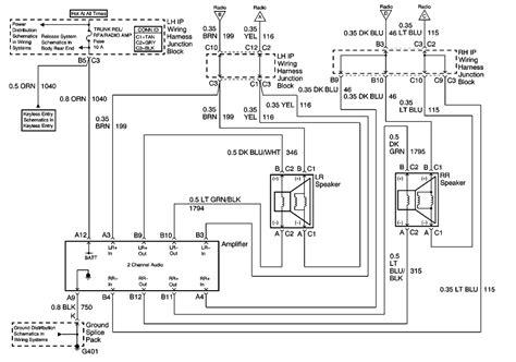 Wiring Diagram Olds Alero Car Schemes