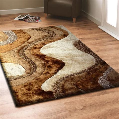 Brown Shag Area Rug by Beige With Brown Shag Rug By Rug Addiction