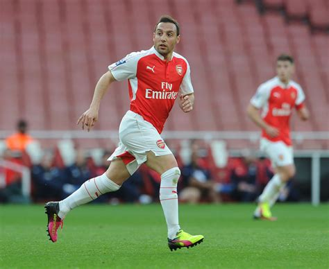 He's Back! Santi Cazorla Returns To Action In Arsenal