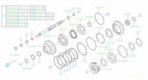 2015 Subaru Impreza Carrier Assembly-planetary  Transmission  Automatic